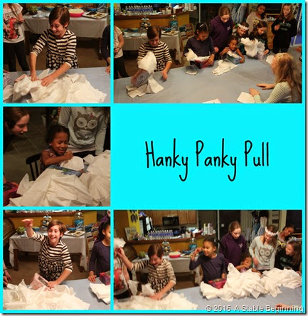 Hanky Panky Pull Collage