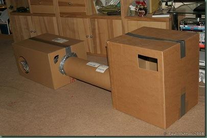IMG_4898 Cardboard cat house