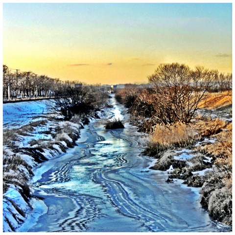 2011.12.22-1 ニニシベツ川