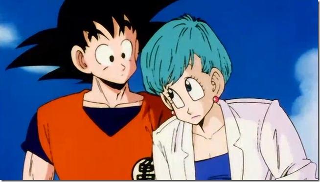 Goku e Bulma