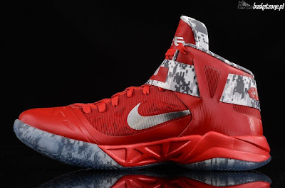 nike zoom soldier 6 gr ohio state camo 4 02 A Detailed Look at Nike LeBron Soldier VI Ohio State Camo