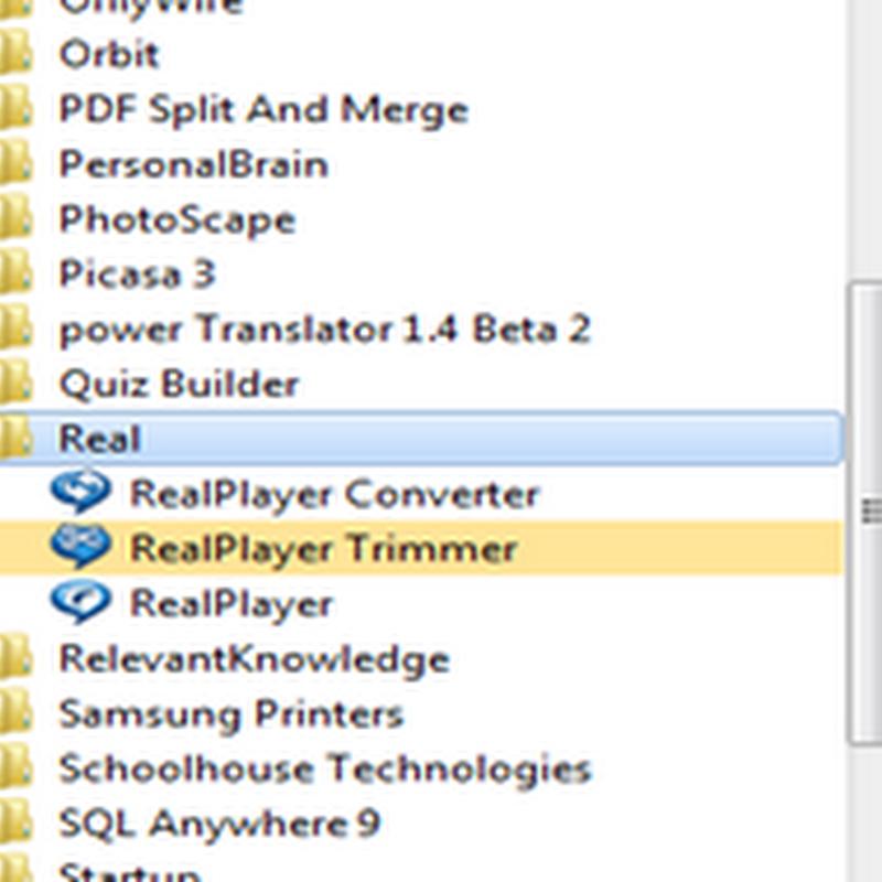 แปลงไฟล์วีดีโอด้วย Real player