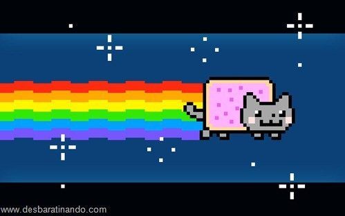 nyan cat wallpaper meme desbaratinando (3)