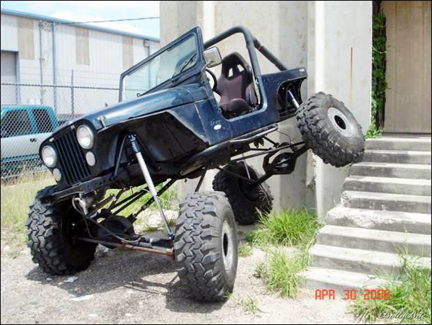 Amazing Jeep Suspension