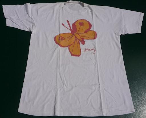 Heavenly big butterfly