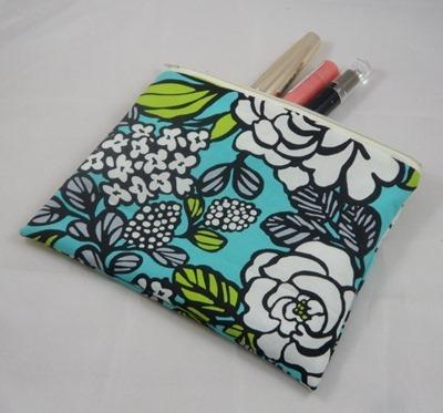 aqua pencil case