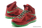 lbj10 fake colorway christmas 1 02 Fake LeBron X