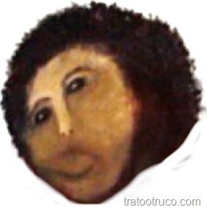 máscara ecce homo 1