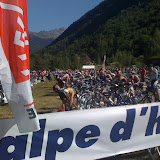 Long Distance Alpe d'Huez triathlon