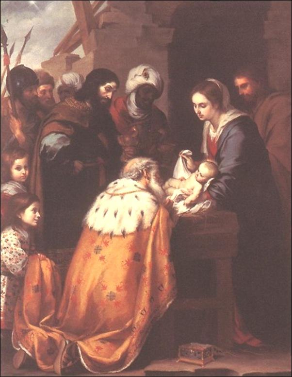 Bartolomeo Murillo, Adoration des mages