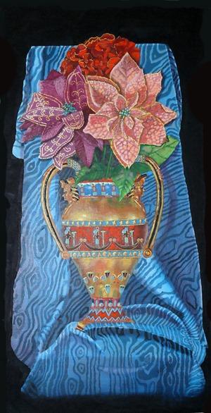 Velvet Tetrault Floral Egypt Urn