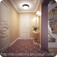 Идеи декора стен и пола прихожей