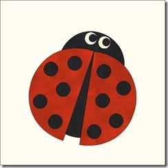appliqued animals ladybug2