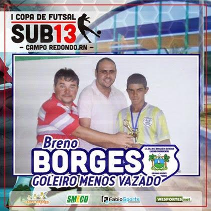I COPA SUB13 2014 - GOLEIRO