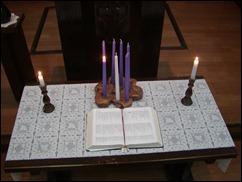 Lent candles (1)