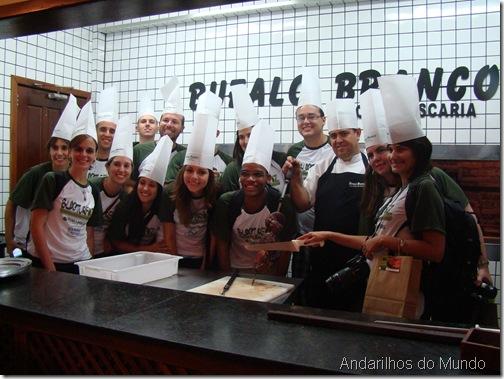 Bufalo Branco Blogueiros Foz do Iguaçu