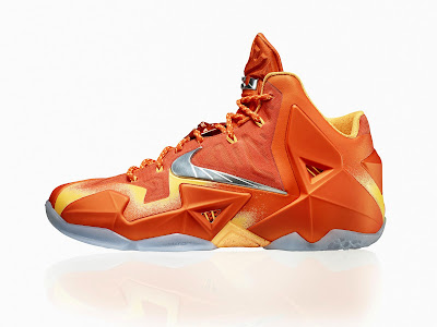 nike lebron 11 gr atomic orange 5 05 forging iron Official Unveiling of LEBRON 11 Forging Iron That Drops Next Month