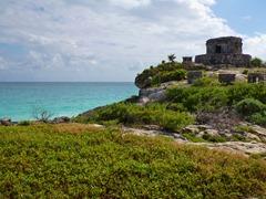 Seaside Mayan ruins in Tulum.