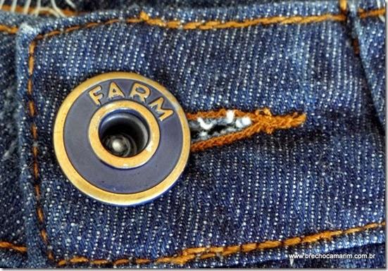 short jeans Farm Brecho Camarim-001