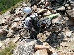 Rocky trails near Fairfield, Idaho