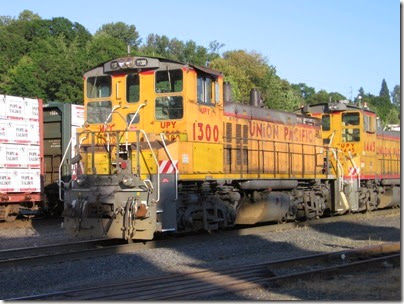 IMG_6477 Union Pacific MP15DC UPY #1300 at Albina Yard in Portland on May 22, 2007