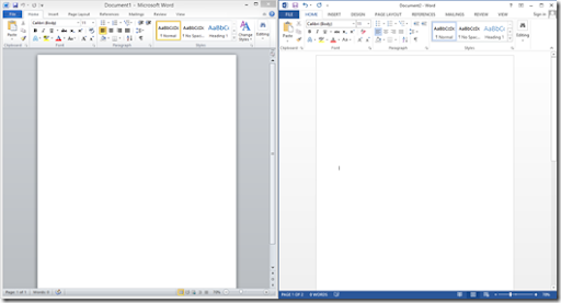 Microsoft Office 2013 : Disappointing UI