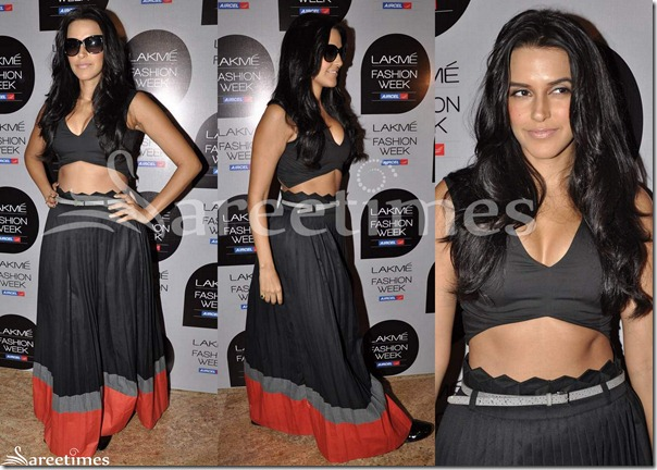 Neha_Dhupia_Anamika_Khanna_Lehenga
