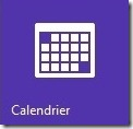 Outlook design calendrier