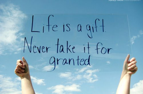 Life is a gift | NuttyTimes – Beautiful Quotes & More
