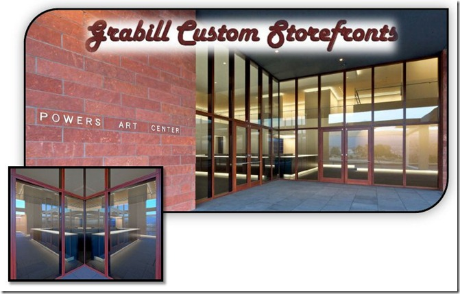 Grabill Custom Storefront Windows