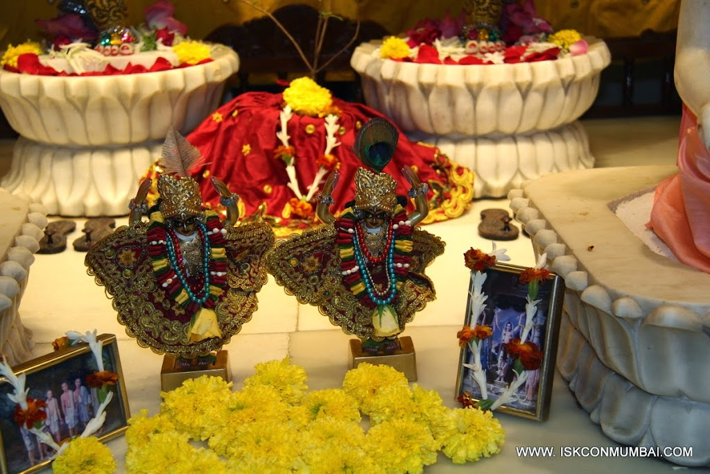 Sri Sri Gaura Nitai Small Altar