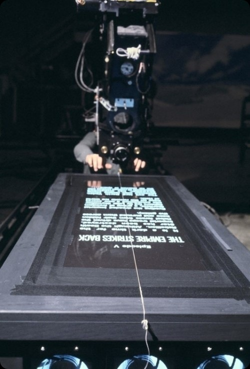 how the star wars opening title was made behind the scenes