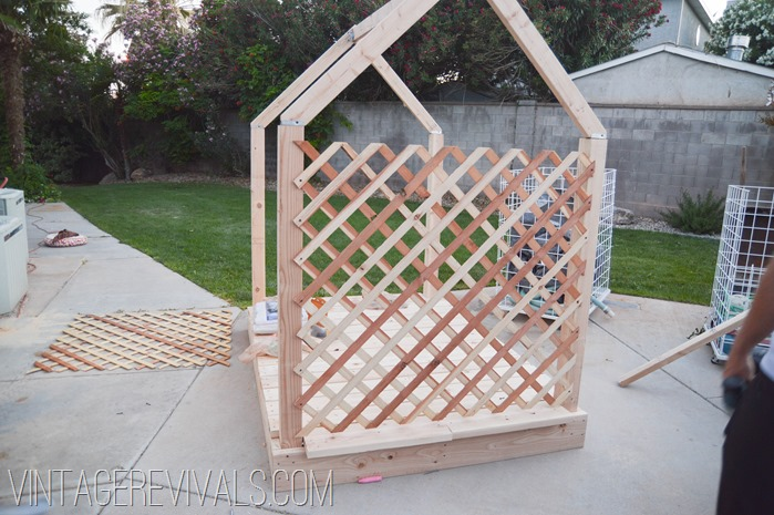 Outdoor Playhouse Plans @ Vintage Revivals-21