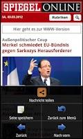 Screenshot of Die Zeitungen (Deutschland)