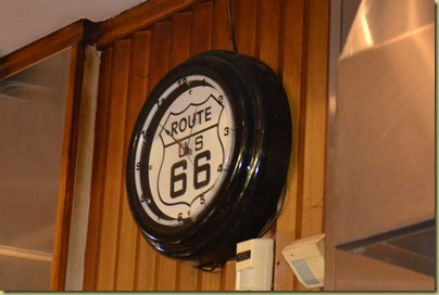 Lou Mitchell Clock