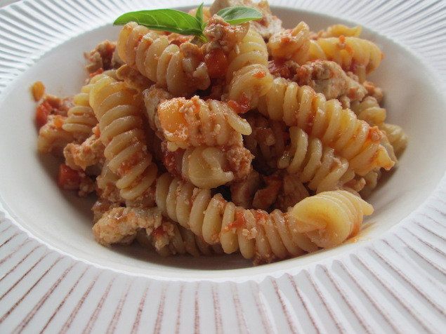 Simple Pasta with Hearty Tofu and Tomato Sauce Recipe   Yummly