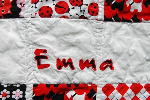 Emma Quilt Detail Application