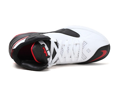 nike air max ambassador 5 gr white black red 1 05 Nike Air Max Ambassador V Miami Heat Home Edition
