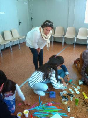 Taller de reciclaje creativo con niños