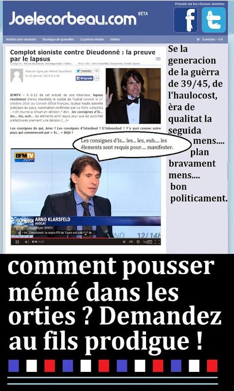 Fils protigue du sioniste français membre du Conseil d'État