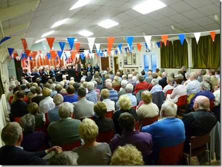 Diamond Jubilee Concert (Sat 2-6-12) - a capacity audience listen to The Grove Singers