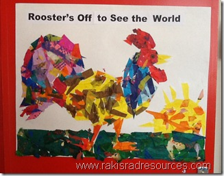 Rooster's Off to See the World - Eric Carle Art