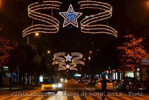 Glória Ishizaka - Luzes de Natal 2013 - Porto  12 Rua Julio Dinis