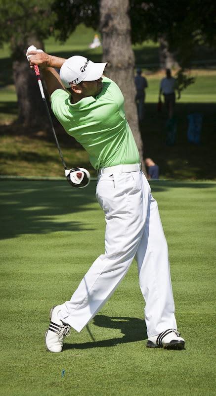 Sergio Garcia at 2011 US Open-9