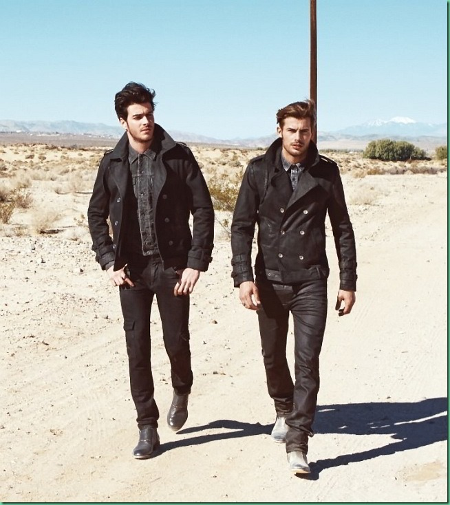 Jacey Elthalion & Gui Fedrizzi for Guess Jeans F/W 13