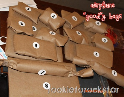 Airplane Goody Bags