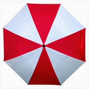Resident Evil Umbrella Coproration Umbrella from ThinkGeek