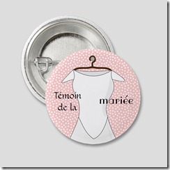 badge temoin de la mariee 2