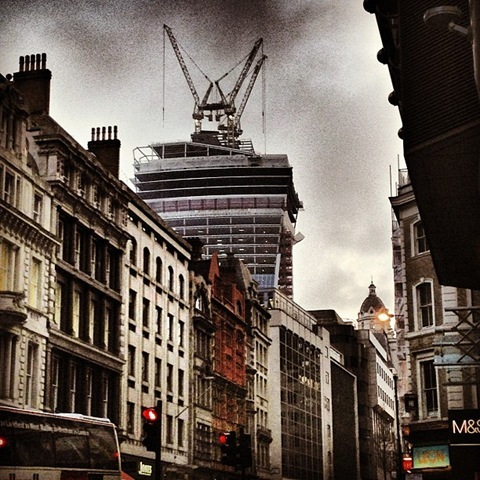Walkie Talkie from Cannon Street