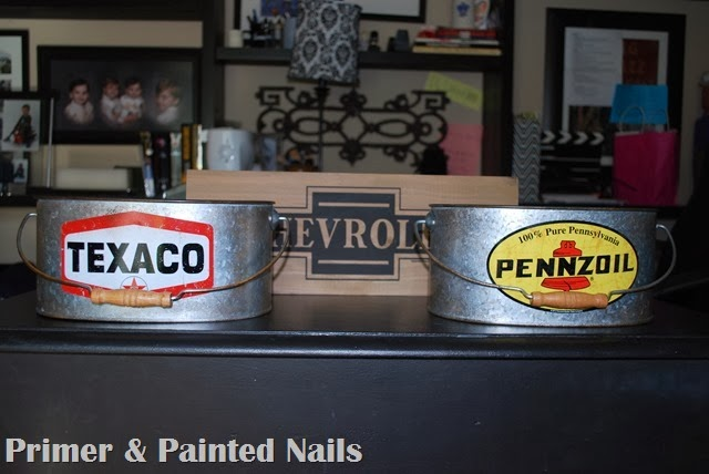 Art Supply Boxes 2 - Primer & Painted Nails